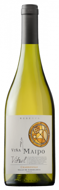 Vitral Chardonnay Reserva, 0.75 л., 2016 г.
