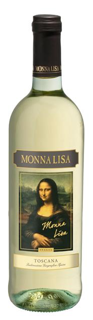 Monna Lisa Bianco, 0.75 л., 2015 г.