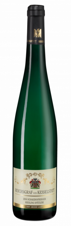 Scharzhofberger Riesling Spatlese, 0.75 л., 2016 г.