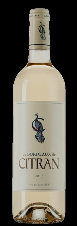Le Bordeaux de Citran Blanc, 0.75 л., 2017 г.