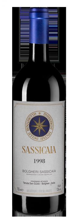 Sassicaia, 0.75 л., 1998 г.