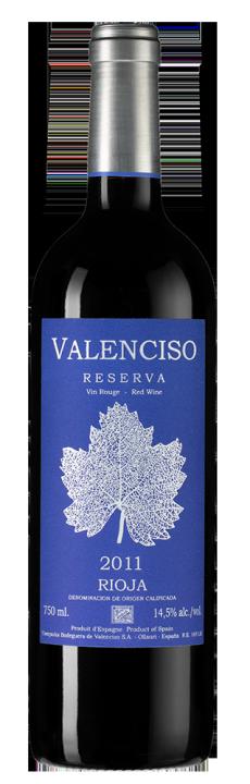 Valenciso Reserva, 0.75 л., 2011 г.