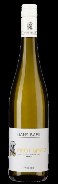 Hans Baer Pinot Grigio, 0.75 л., 2018 г.