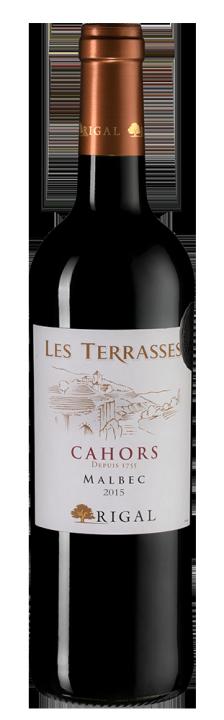 Rigal Malbec Les Terrasses  (Cahors), 0.75 л., 2015 г.