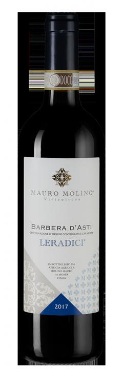Barbera d'Asti Leradici, 0.75 л., 2017 г.