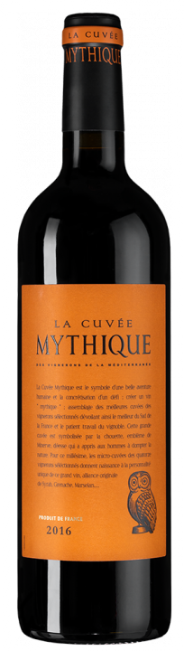 La Cuvee Mythique Rouge, 0.75 л., 2016 г.