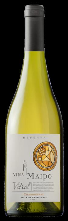 Vitral Chardonnay Reserva, 0.75 л., 2017 г.