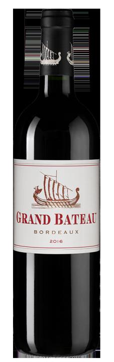 Grand Bateau Rouge, 0.75 л., 2016 г.