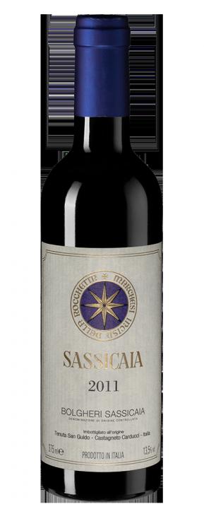 Sassicaia, 0.375 л., 2011 г.