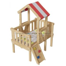 Детская игровая кровать-чердак Базз