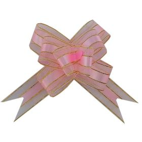 Бант-бабочка, текстиль, 3 см/ 11*9 см, 10 шт