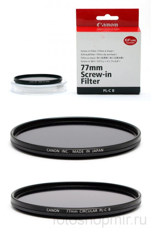 Canon 77mm UV filter