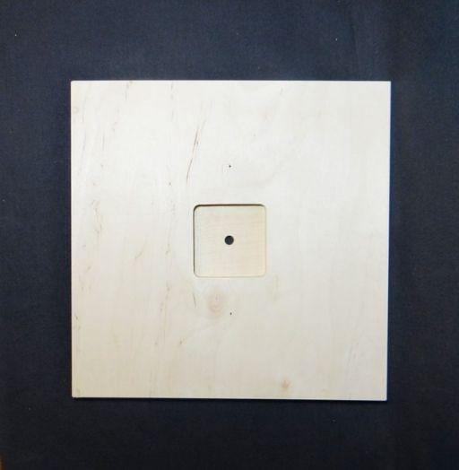 Заготовка для часов, квадрат, 30 см
