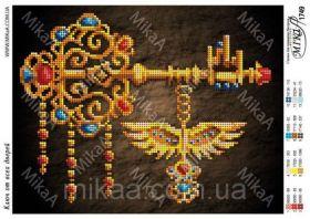 MikaA-1749 Мика. Ключ от Всех Дверей. А4 (набор 525 рублей)