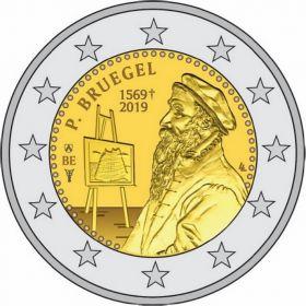 450 лет со дня смерти Питера Брейгеля Старшего 2 евро Бельгия 2019 (BU coincard)