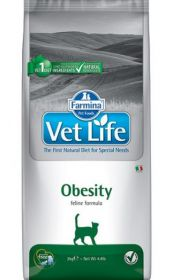 Vet Life cat Obesity (Фармина Вет Лайф Обесити)