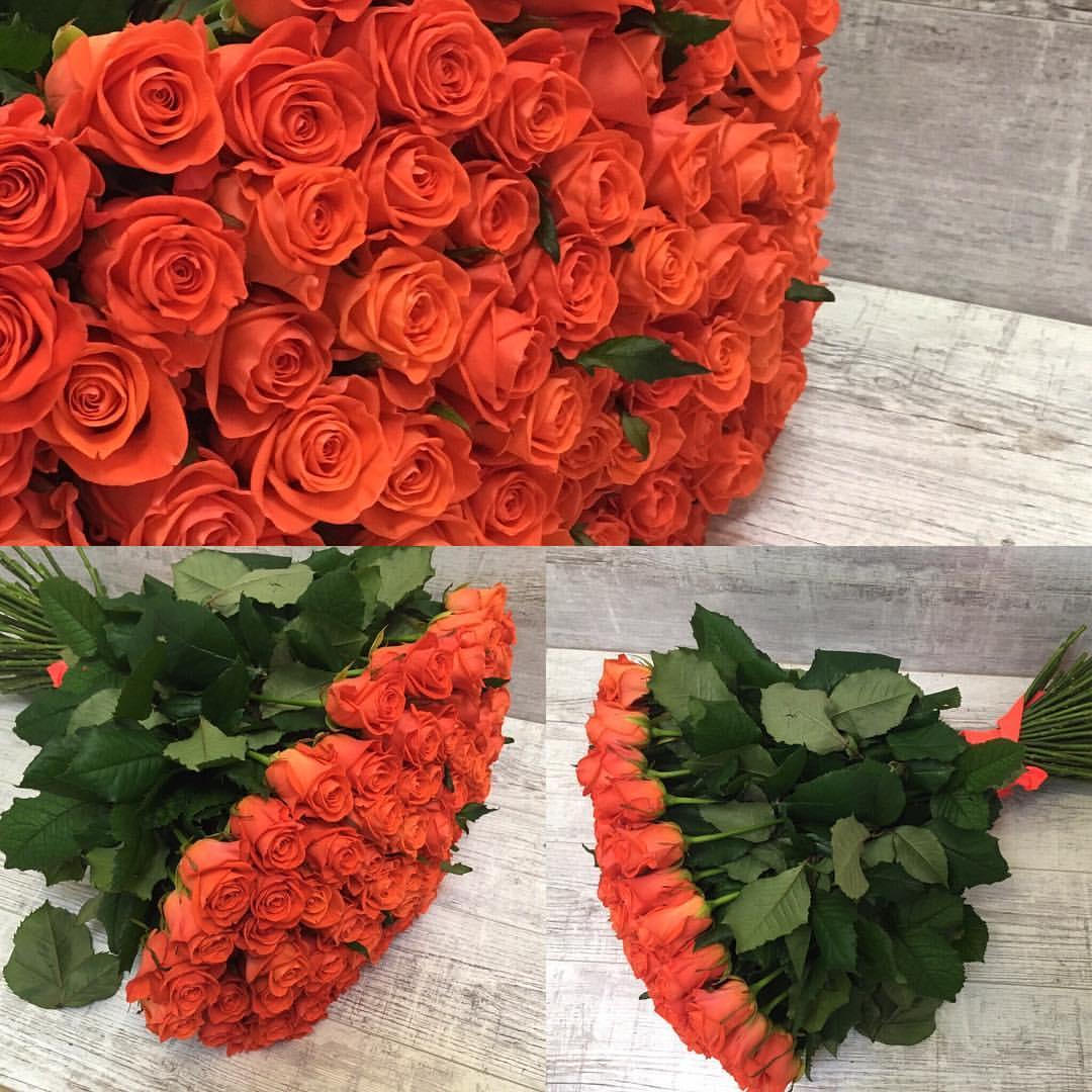Букет из 25 роз «Вау»