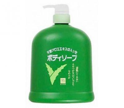 Cow Brand Aloe Body Soap Жидкое мыло для тела с экстрактом алоэ 1200 мл