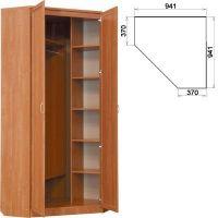 Шкаф угловой (модуль 401)
