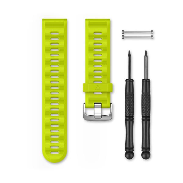 Ремешок для Garmin forerunner 935 силиконовый желтый