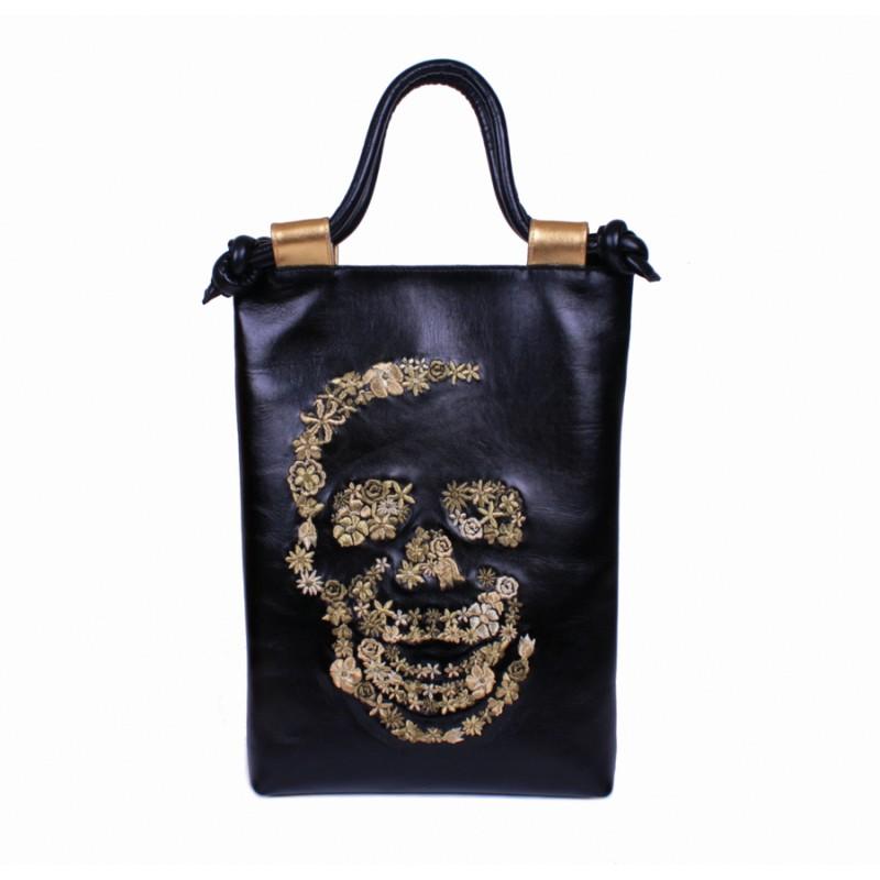 Средняя сумка Золотой череп >Артикул: AA120061