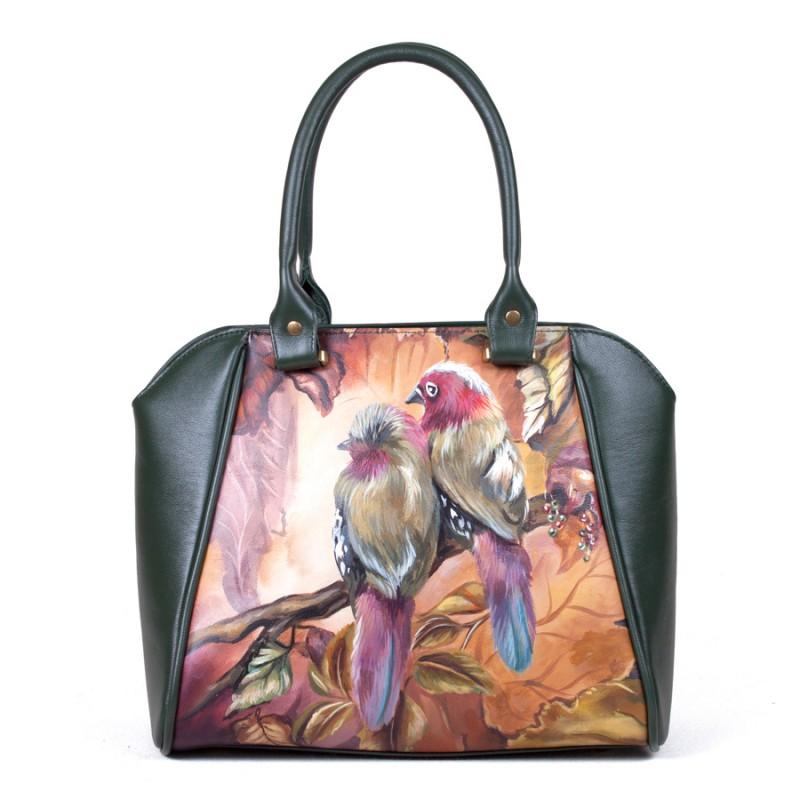 Средняя сумка Экзотические птички >Артикул: AA230041