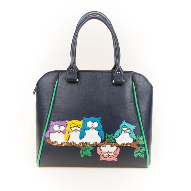 Средняя сумка Совята на ветке >Артикул: AA230143