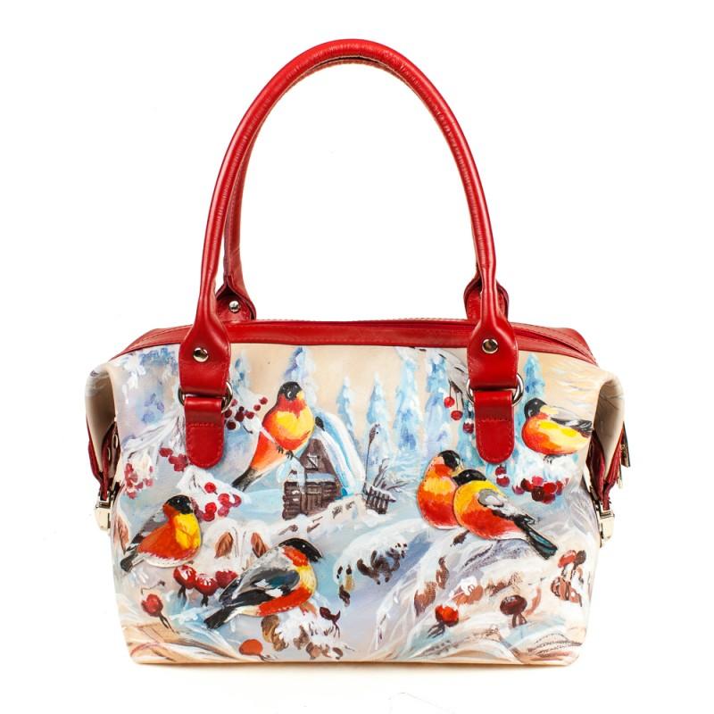 Маленькая сумочка Снегири >Артикул: AA410095