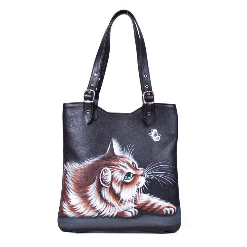 Средняя сумка Лунный котик >Артикул: AA340091