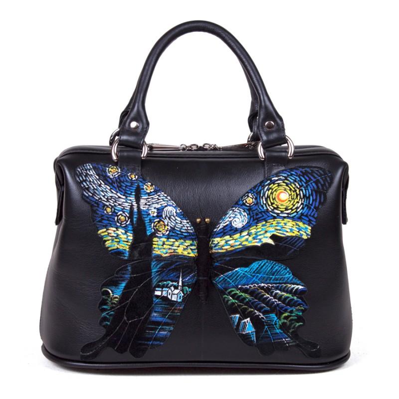 Саквояж Бабочки 3D Ван Гог >Артикул: AB010973