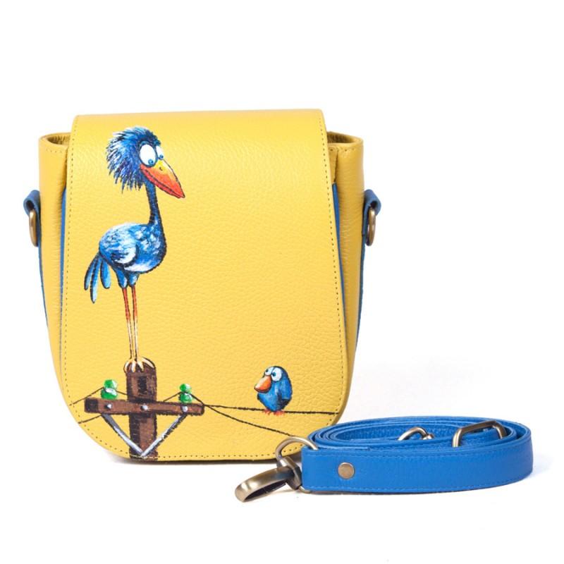 Сумочка кроссбоди Птички >Артикул: AE030061