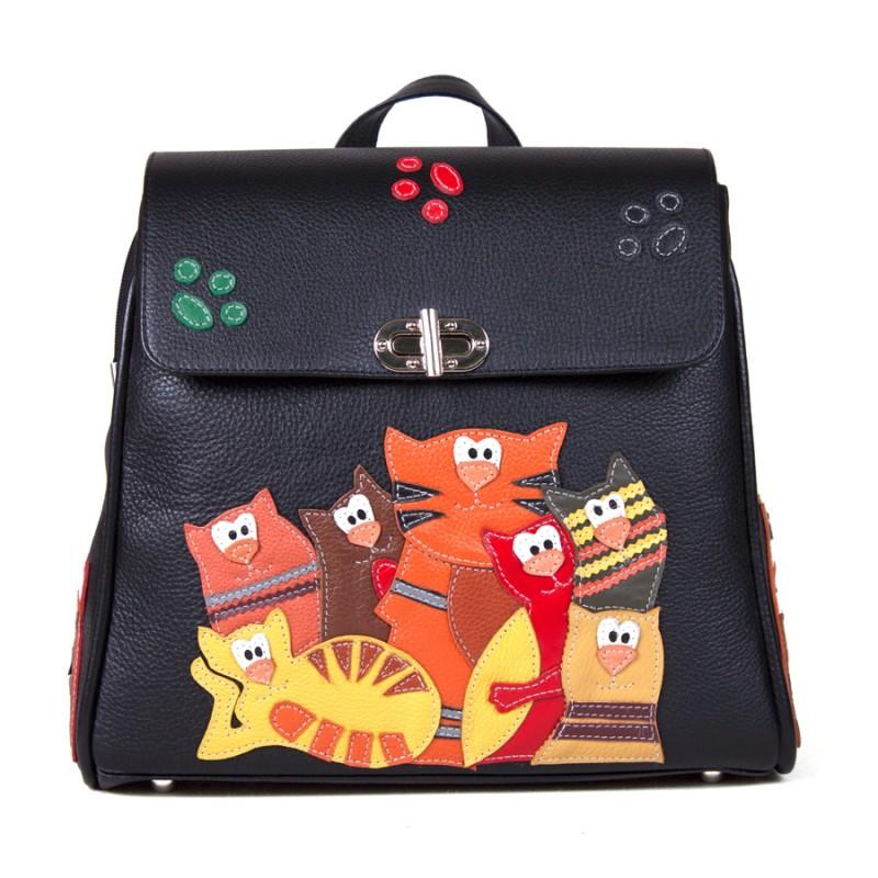 Женский рюкзак Банда котов >Артикул: AF100013