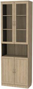 Шкаф для книг (модуль 207) дуб сономо