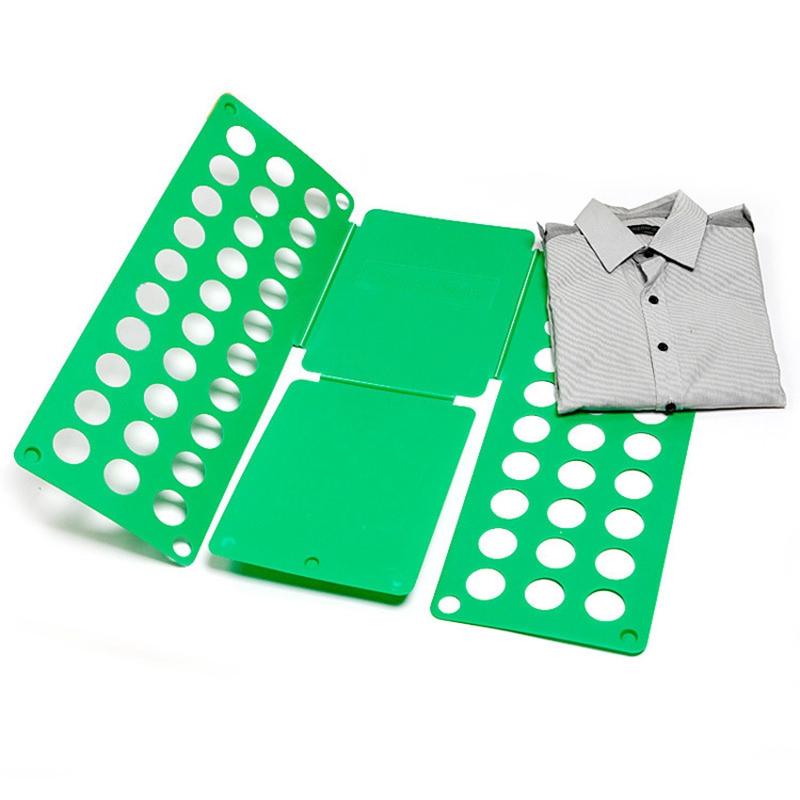 Рамка Для Складывания Взрослой Одежды Clothes Folder, Цвет Зеленый