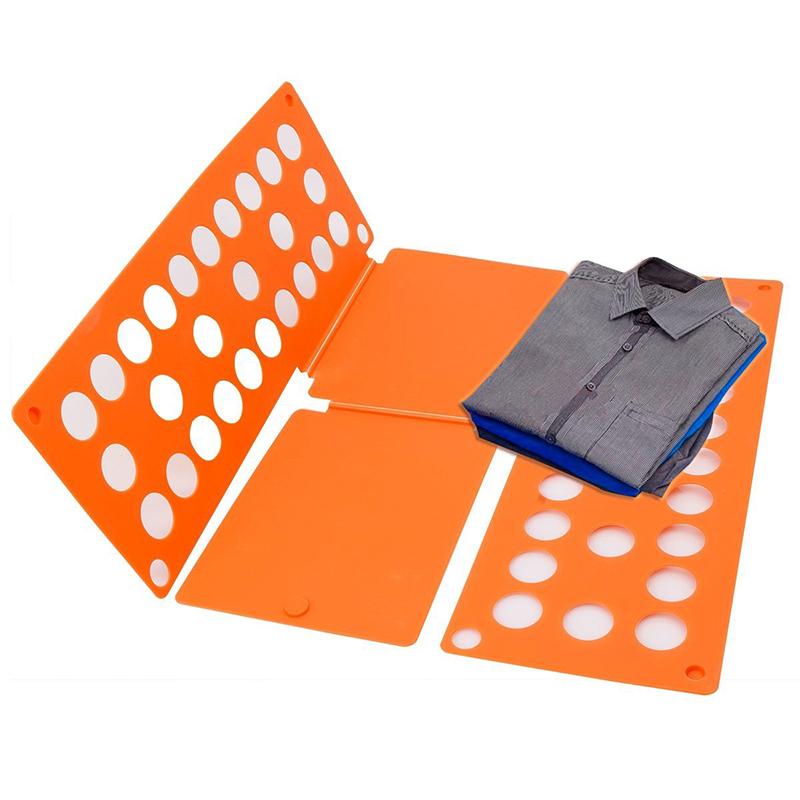 Рамка для складывания взрослой одежды CLOTHES FOLDER, цвет оранжевый