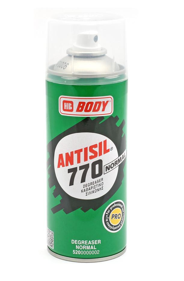 HB Body Antisil 770 очиститель силикона, 400мл.