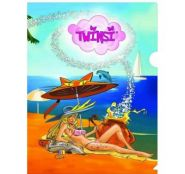 Папка-уголок Action! Twinsi, А4 (арт. TPF303)