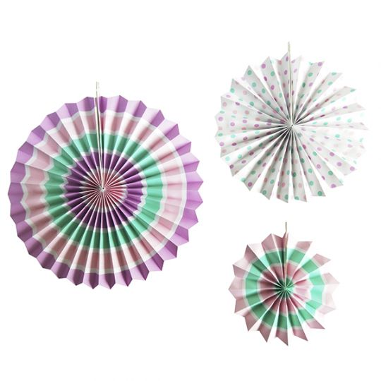 Набор из 3 фантов: лилово-мятное ассорти
