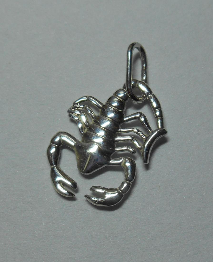 """Кулон """"Скорпион"""" (серебро 925)"""