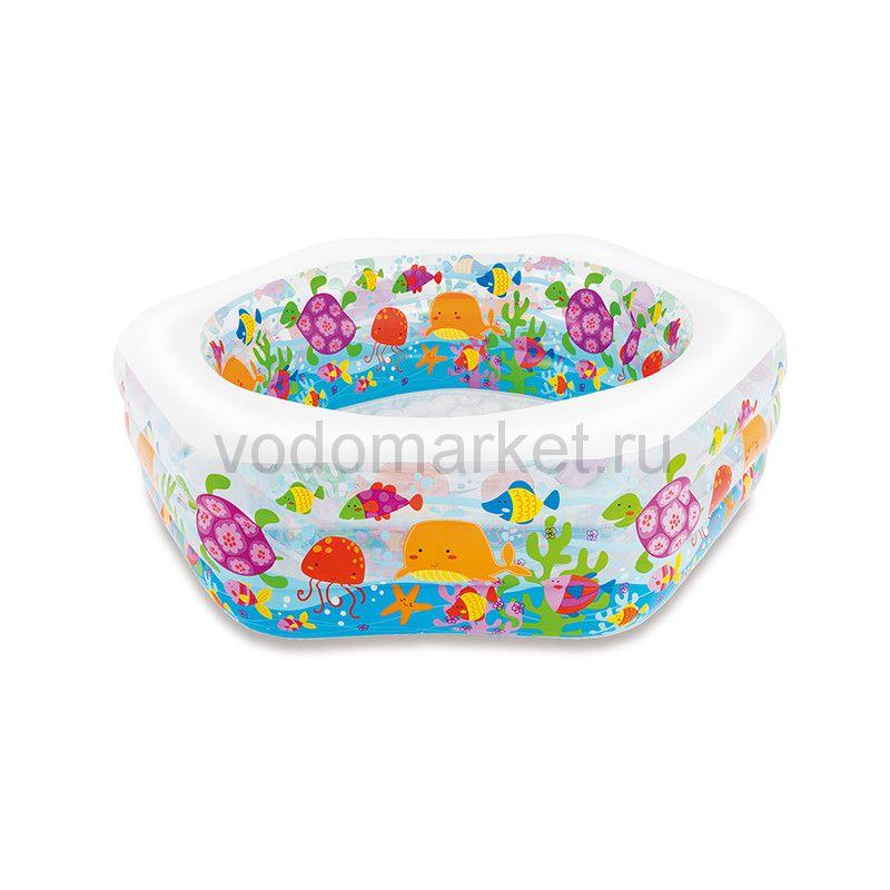 Детский бассейн надувной Океан (intex 56493)