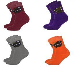Детские махровые носки мишутка 5061