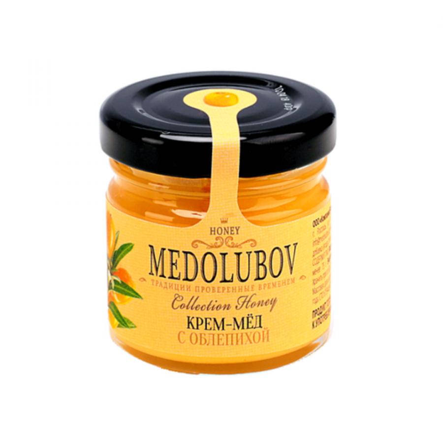 Крем-мёд Medolubov с облепихой 40мл