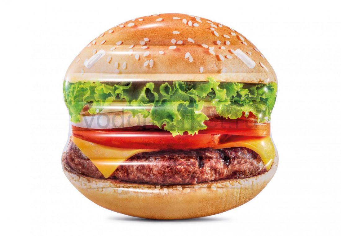 Надувной матрас-плот Гамбургер Intex (58780)