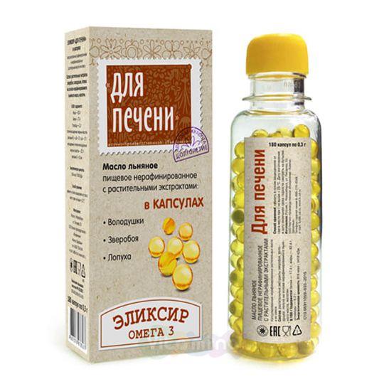 """Льняное масло """"Для печени"""""""
